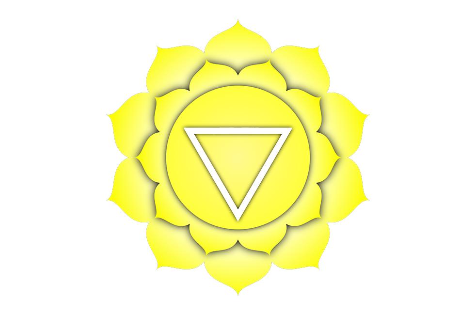Символ чакры солнечного сплетения