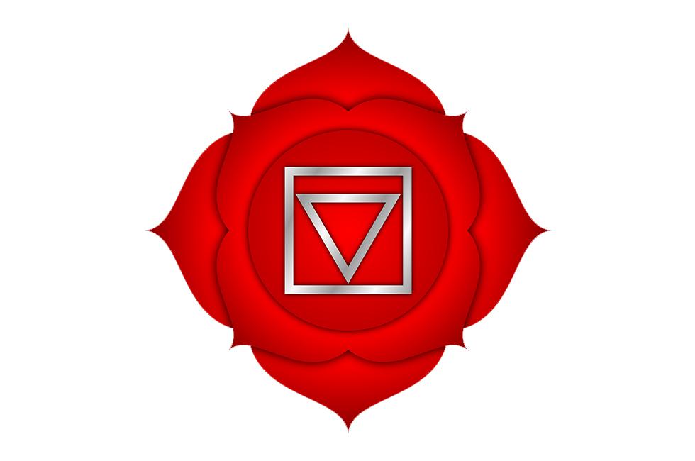Символ корневой чакры